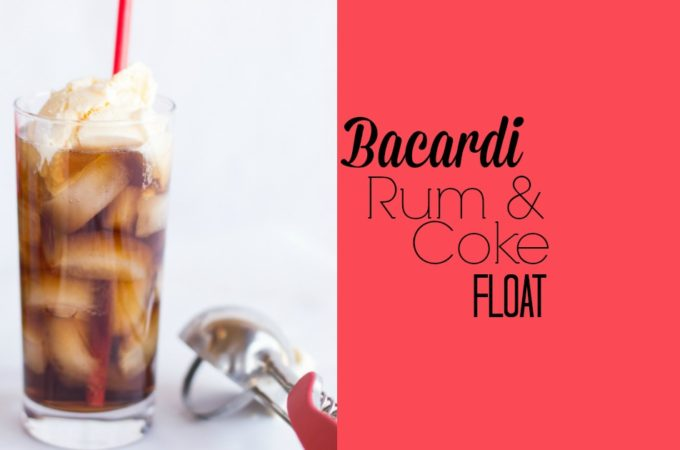 Bacardi Rum 'N' Coke Float
