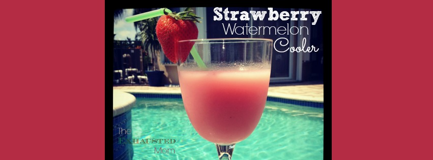 Thirsty Thursday ~ Strawberry Watermelon Cooler