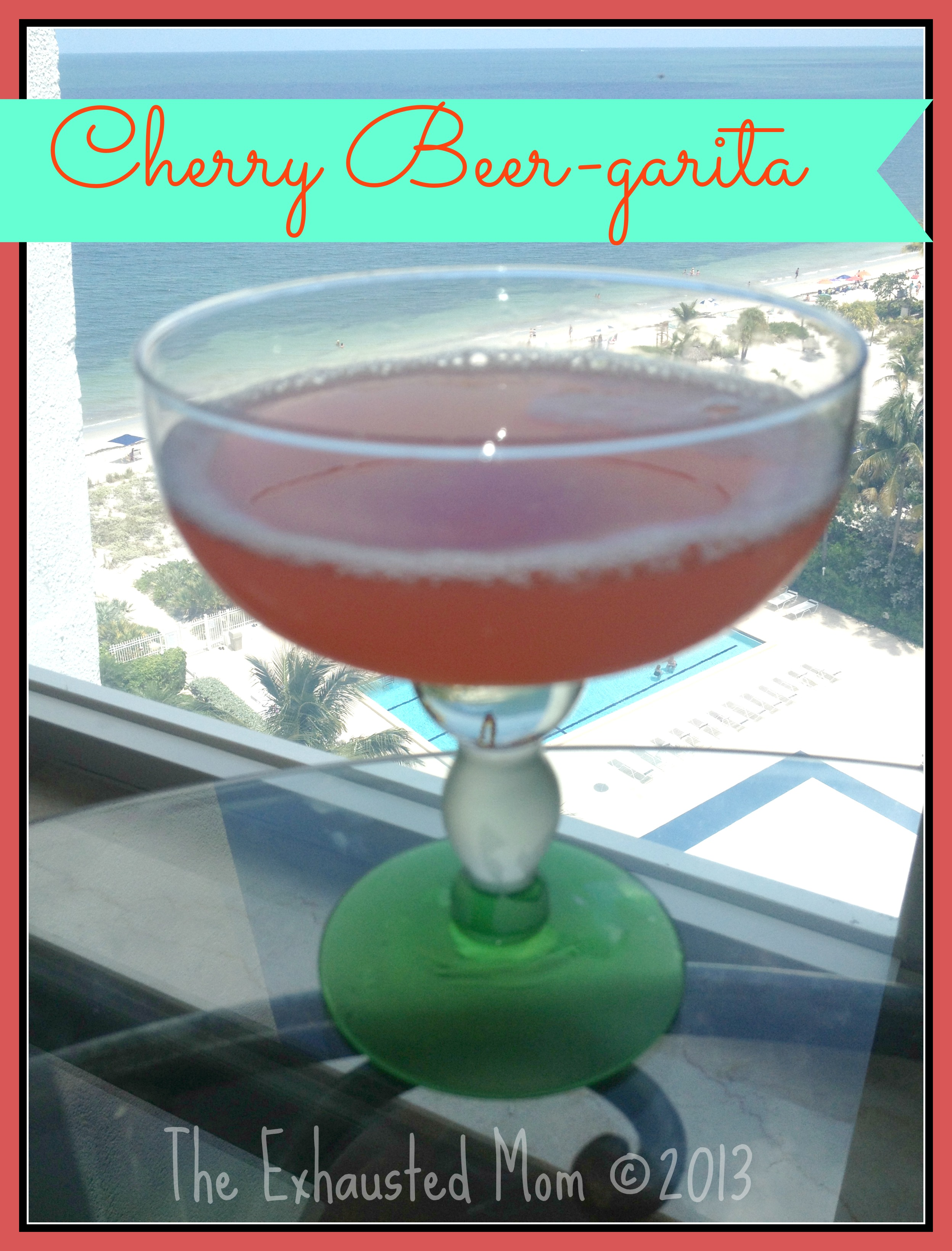 Cherry Beer-garita 2