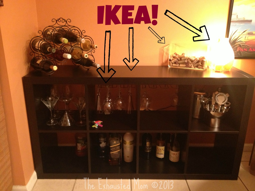 Using IKEA Products to Make the Perfect Bar The