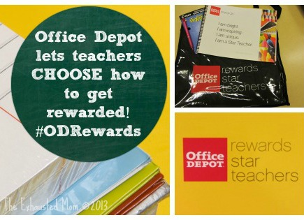 Office Depot Appreciates Star Teacher With Rewards