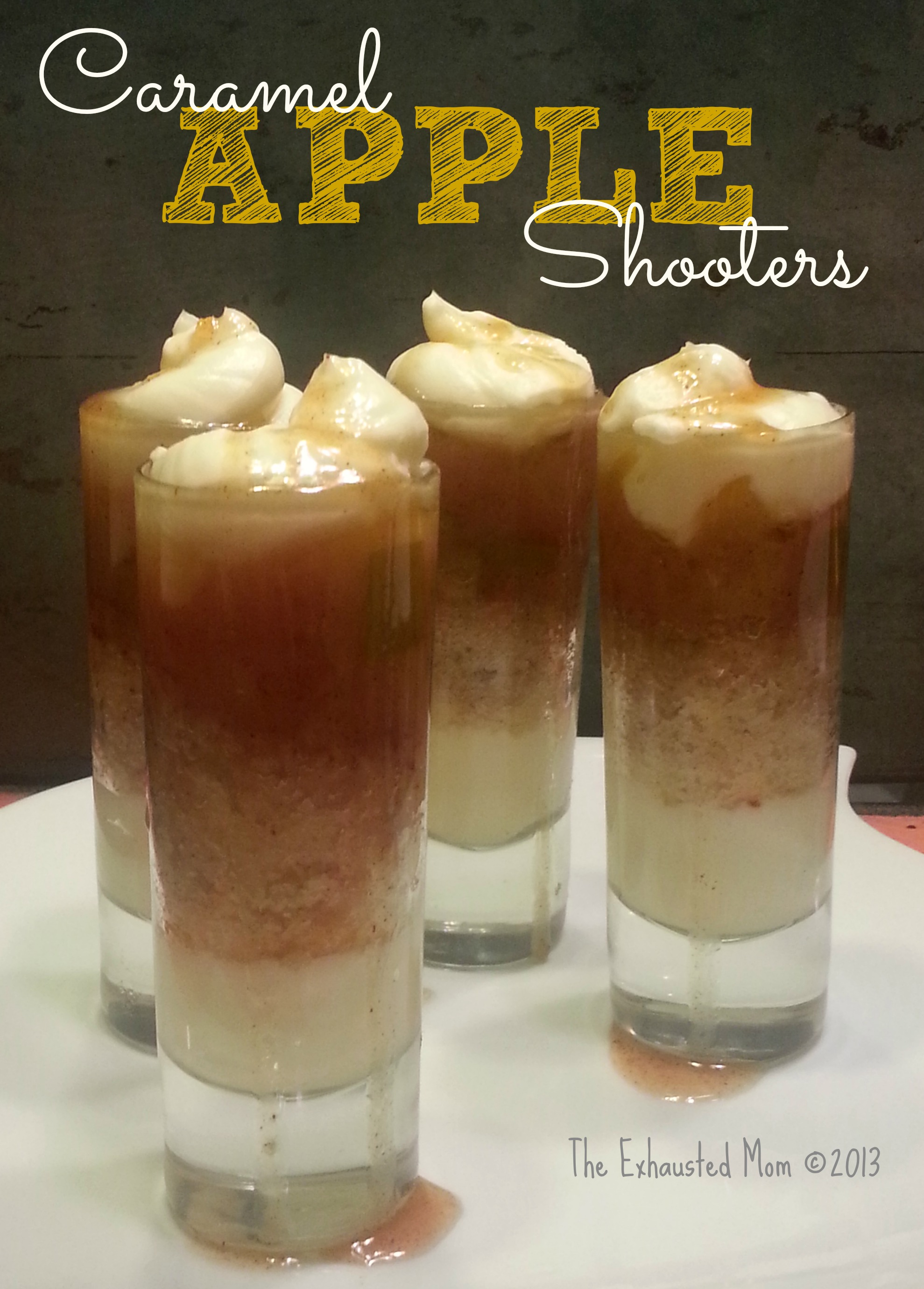 Caramel Apple Shooters