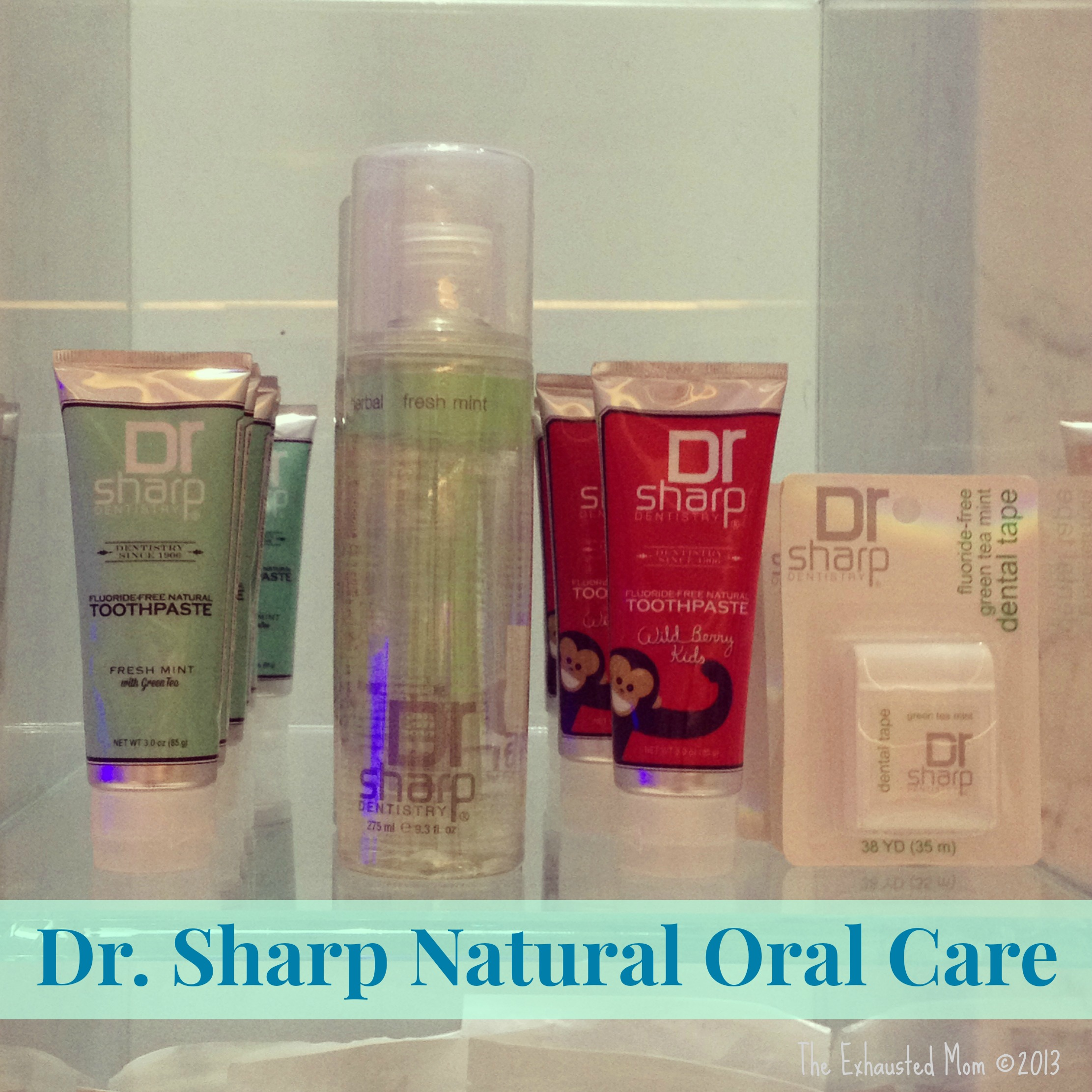 Dr. Sharp Natural Oral Care + Giveaway