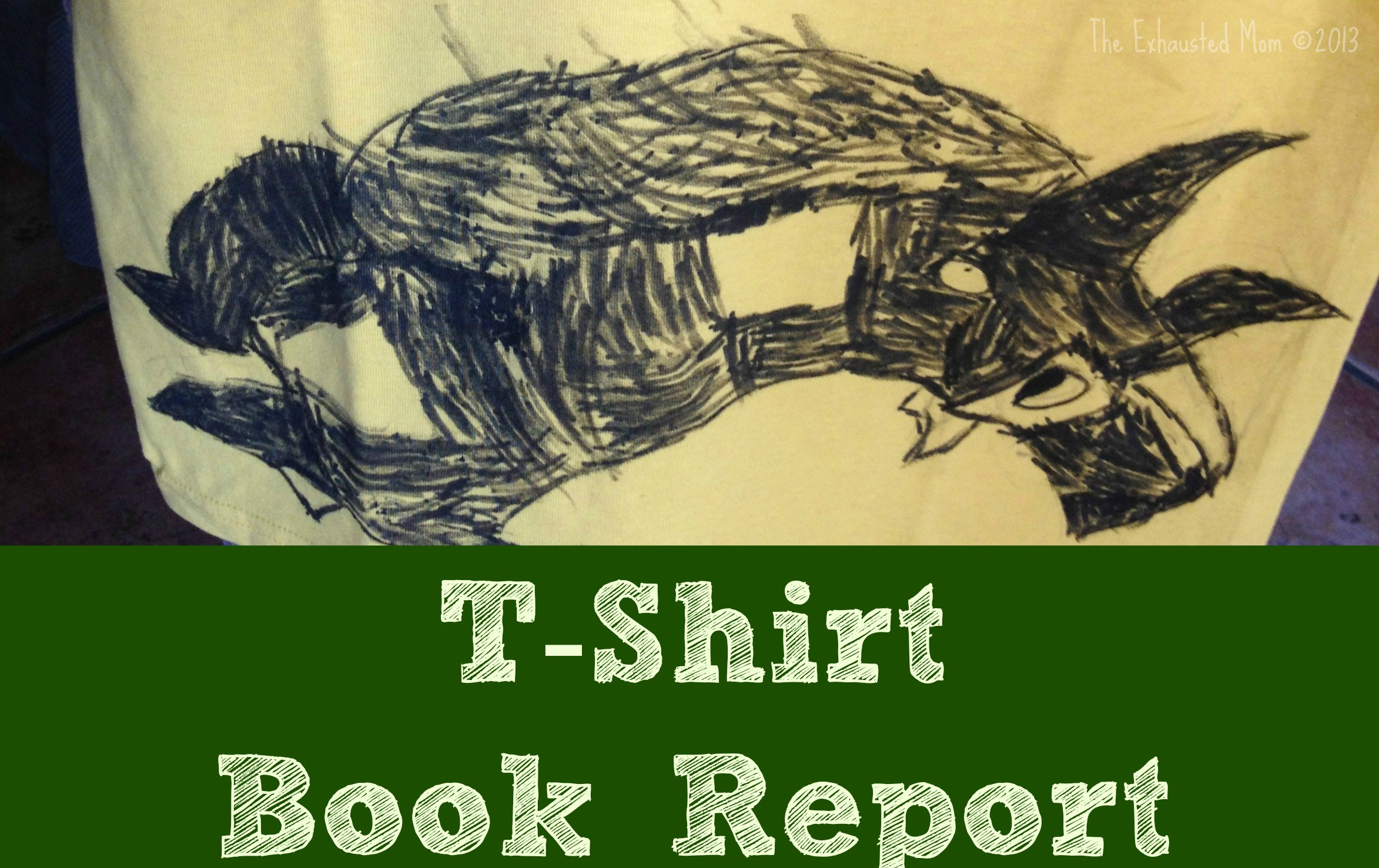 T-Shirt Book Report