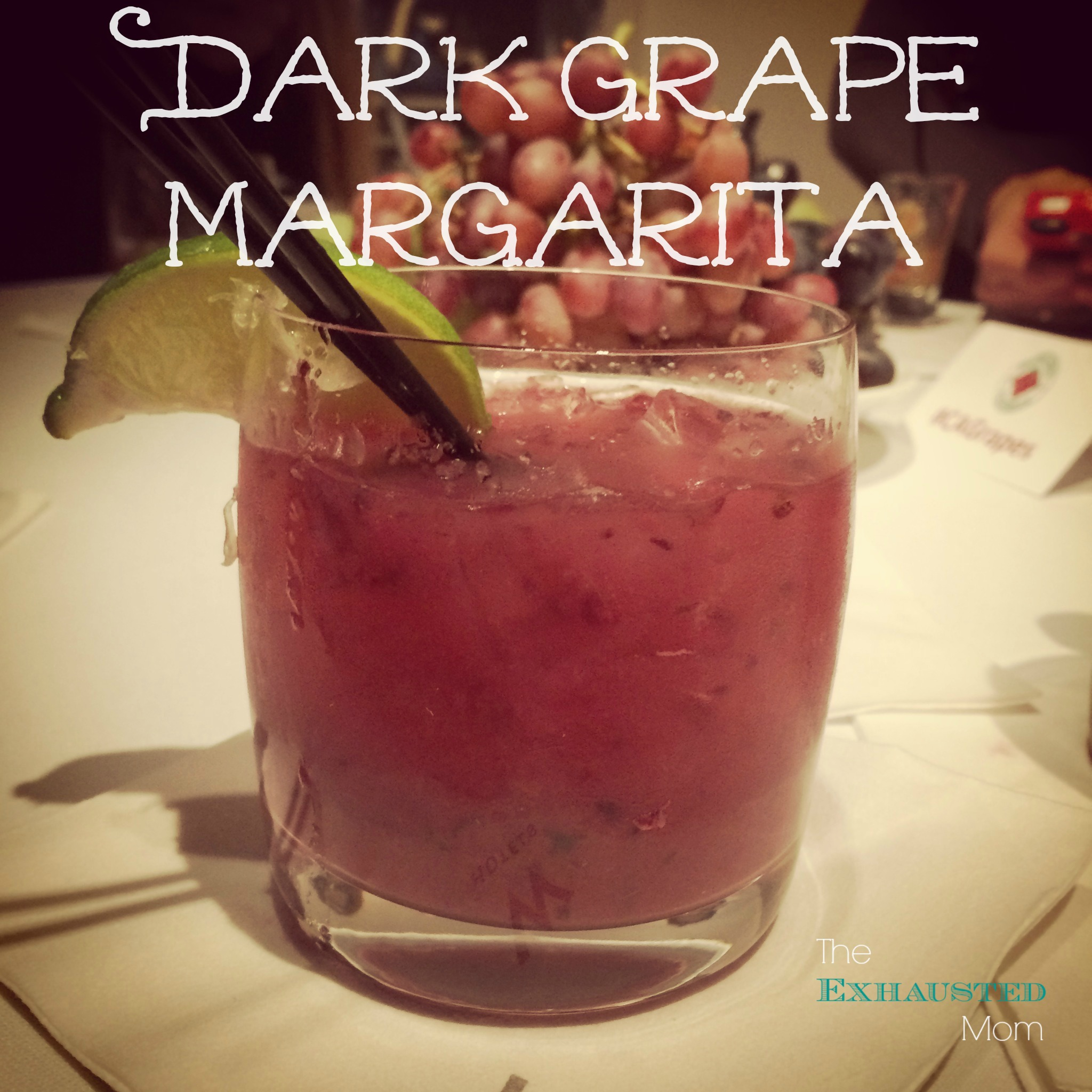 Thirsty Thursday ~ Dark Grape Margarita