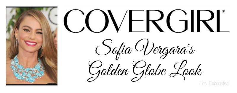Sofia Vergara's Golden Globe Look