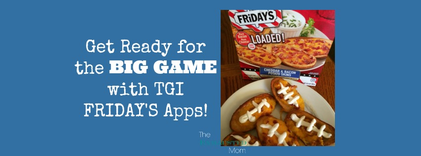 Getting Game Day Ready with TGI Friday's Appetizers