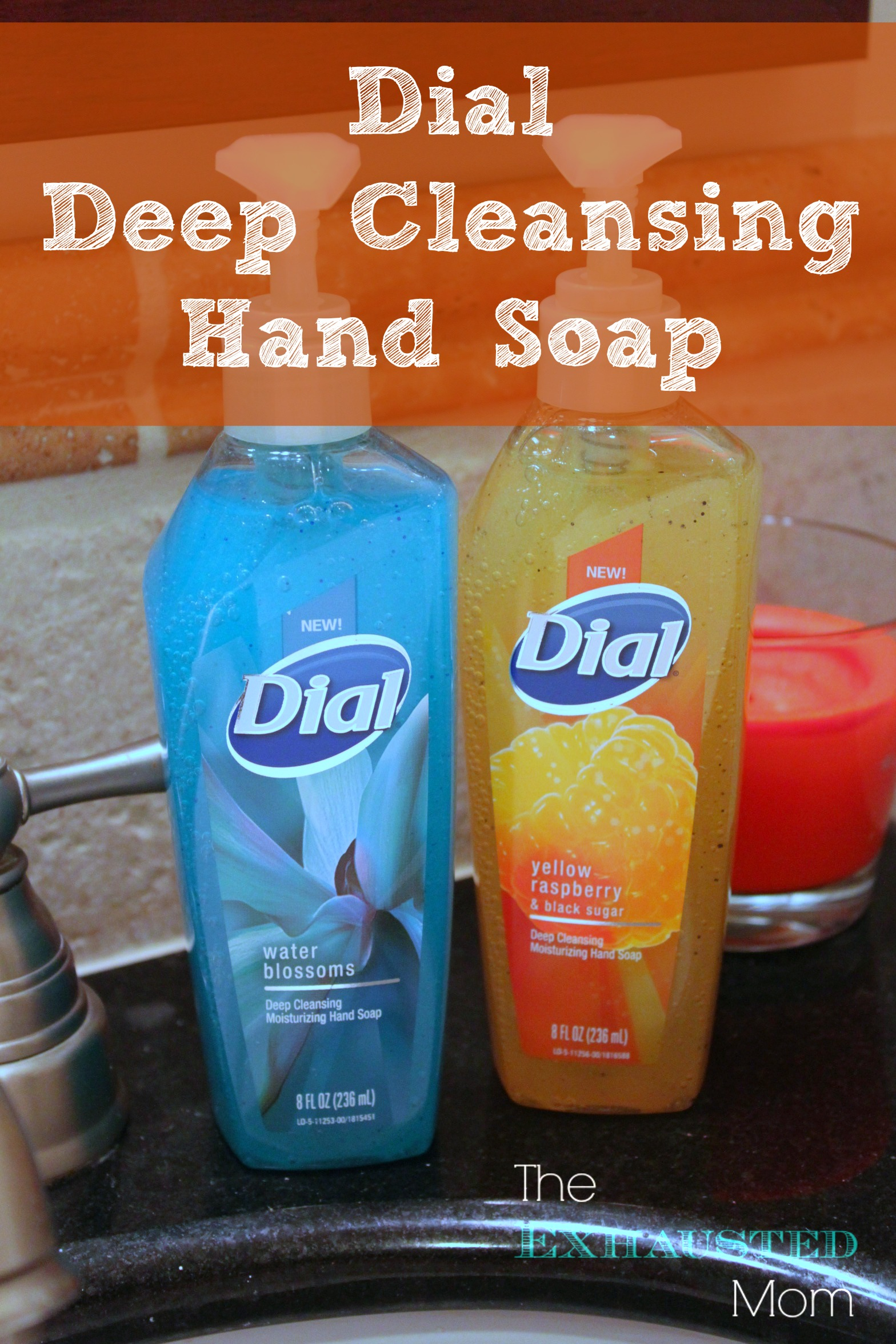 Clean Dirty Hands with Dial Deep Cleansing Hand Soap