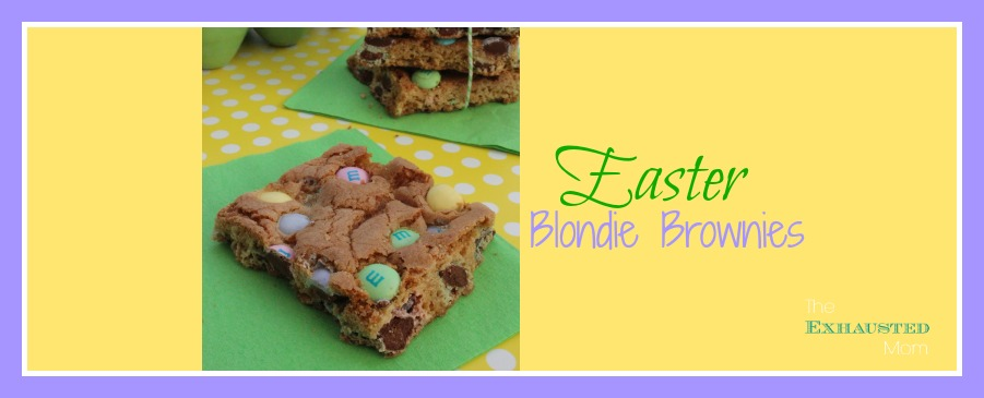 Easter Blondie Bars