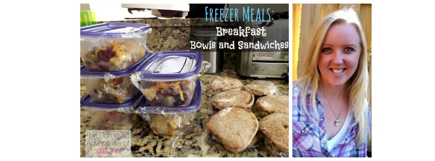 Freezer Breakfasts ~ Pay it Forward Friday