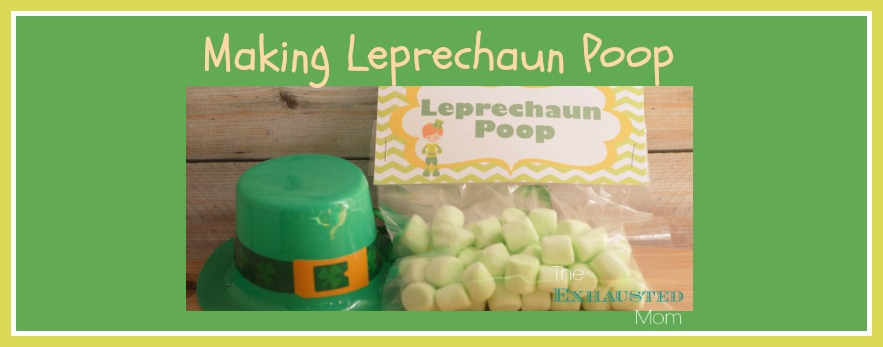 Leprechaun Poop with Printable