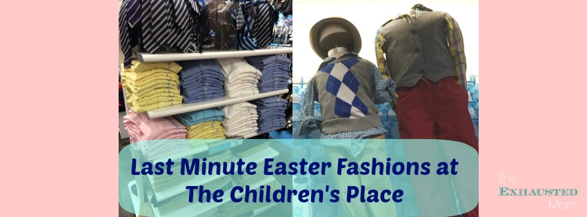 Last Minute Easter Fashions at The Children's Place