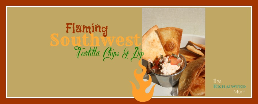 Southwest Chips & Dip Appetizer, Perfect for Cinco de Mayo