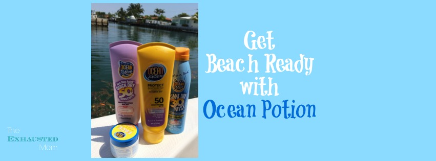 Get Beach Ready With Ocean Potion