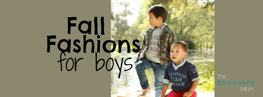 Fall Fashions for Boys