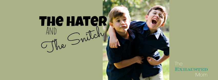 The Hater and The Snitch: A Love Story