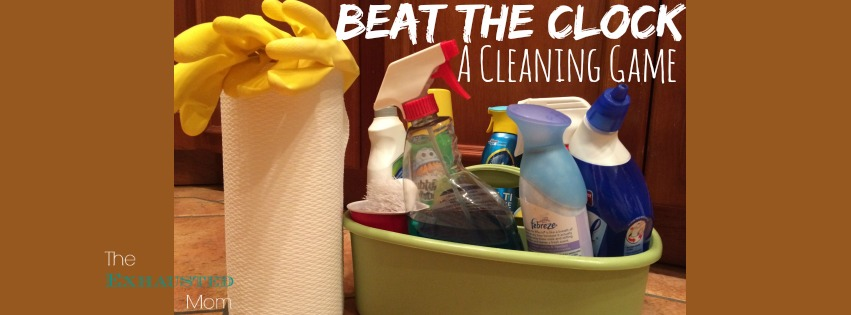 Beat the Clock: A Cleaning Game