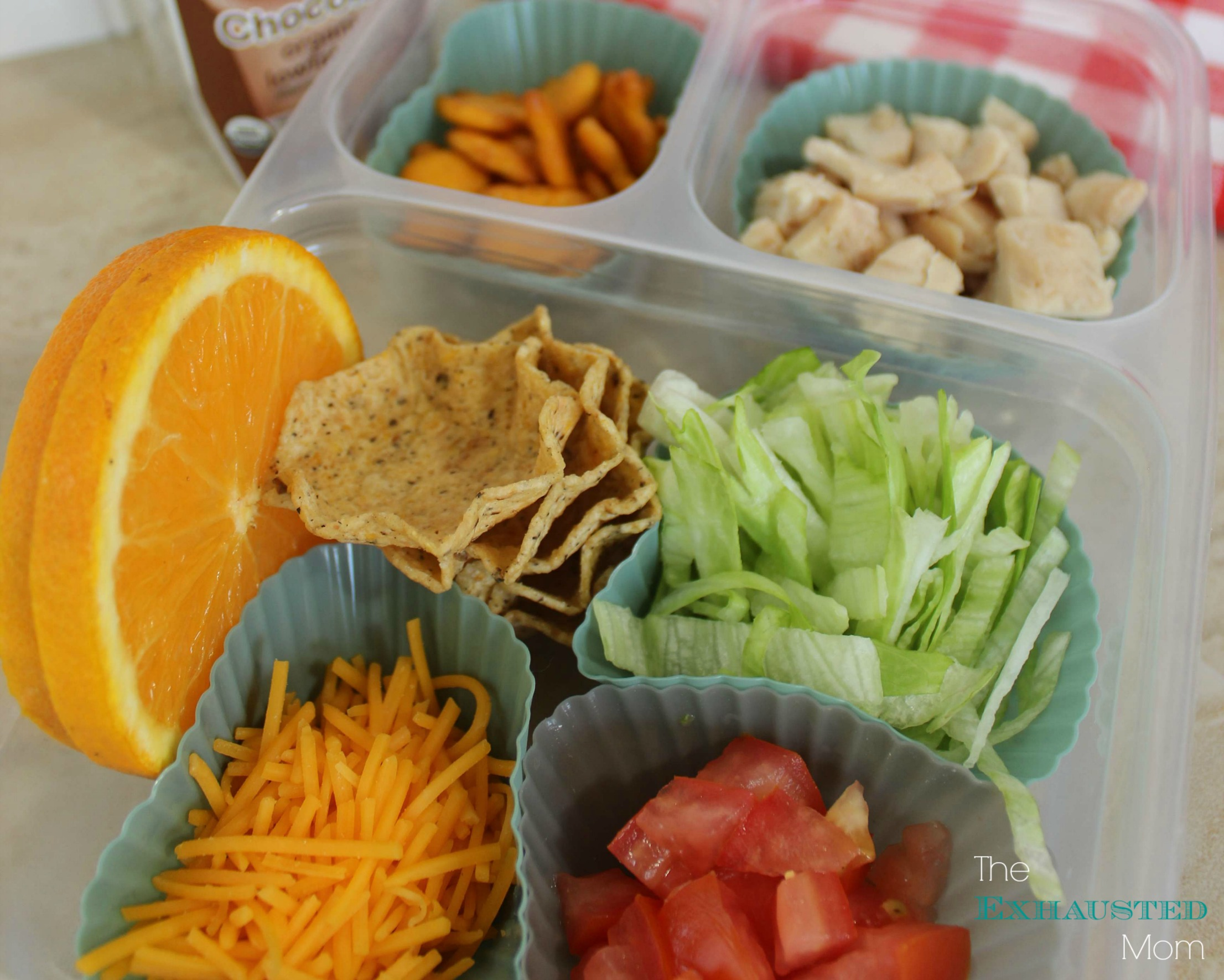 Chicken Taco Bento | Healthy School Lunch Ideas Your Kids Will Love | Homemade Recipes