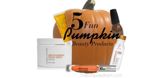 5 Fun Pumpkin Beauty Products