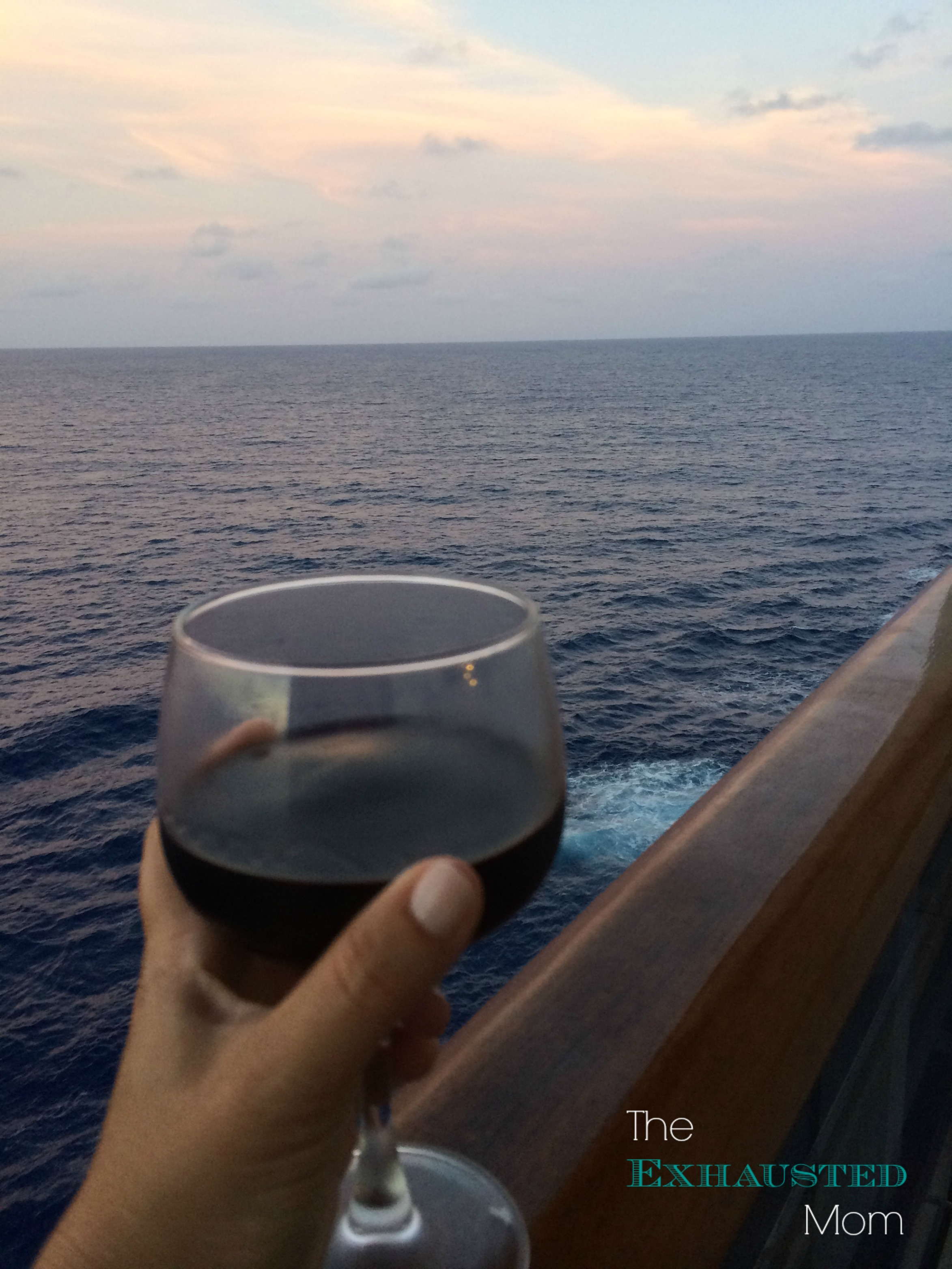 Tips for relaxing on a family cruise.