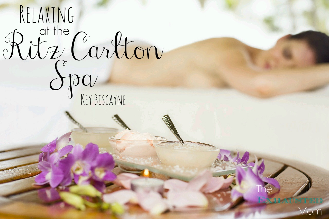 Relaxing at the Ritz-Carlton Spa Key Biscayne