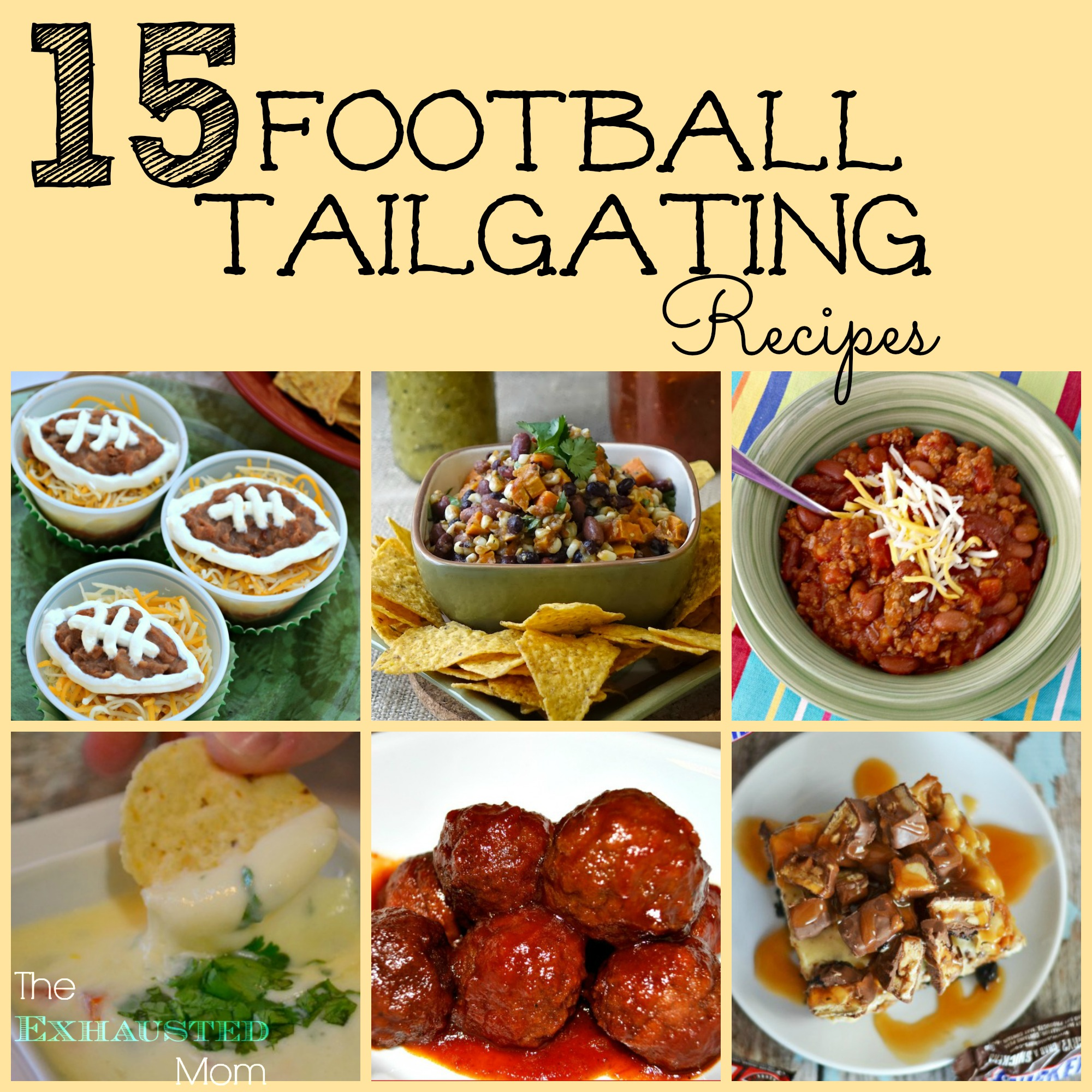 Tailgating Recipes Roundup 2