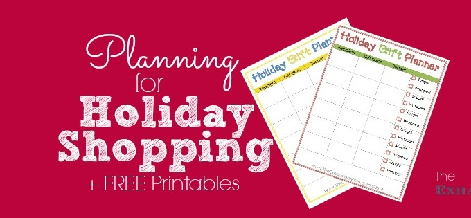 Planning for Holiday Shopping