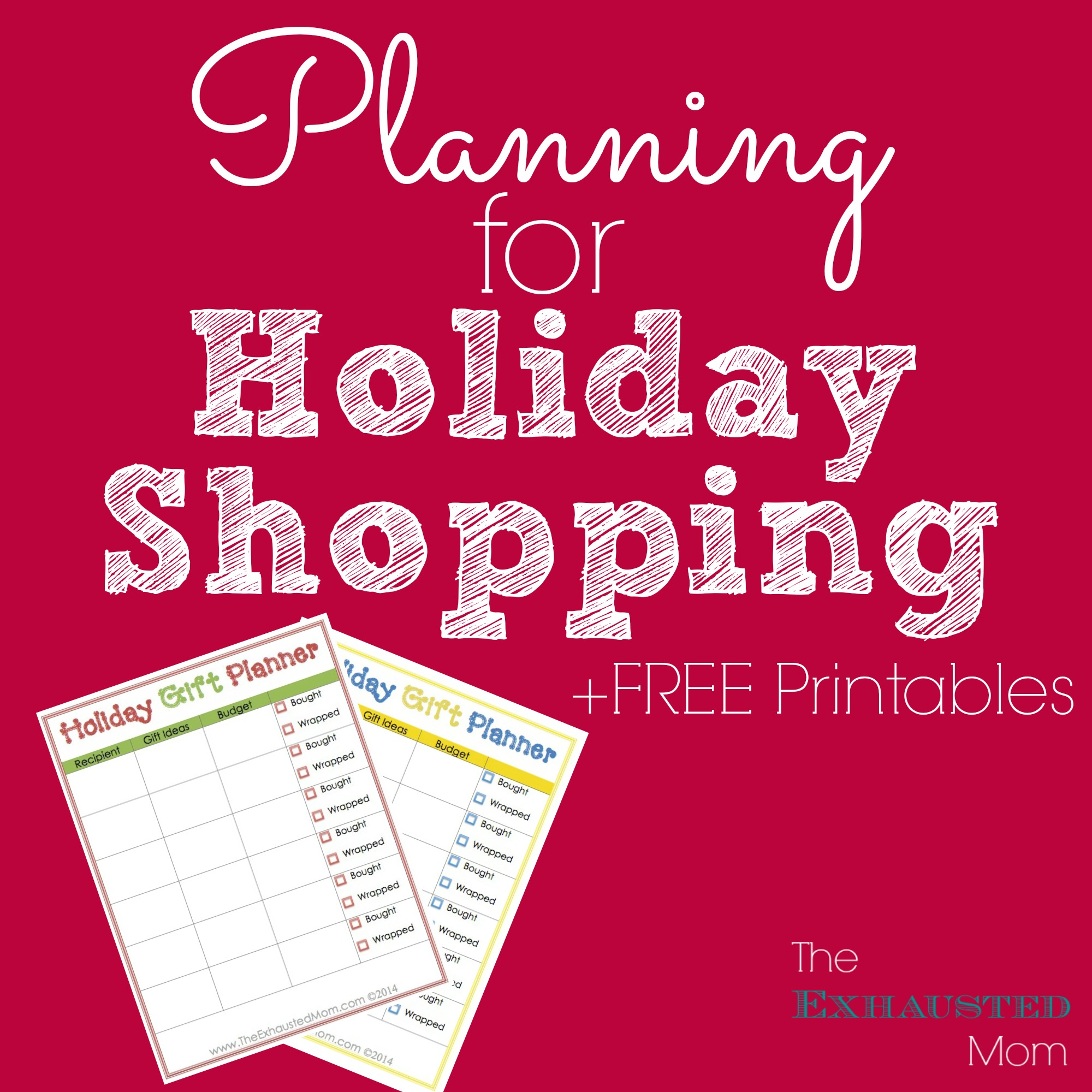 Holiday Gift Planner