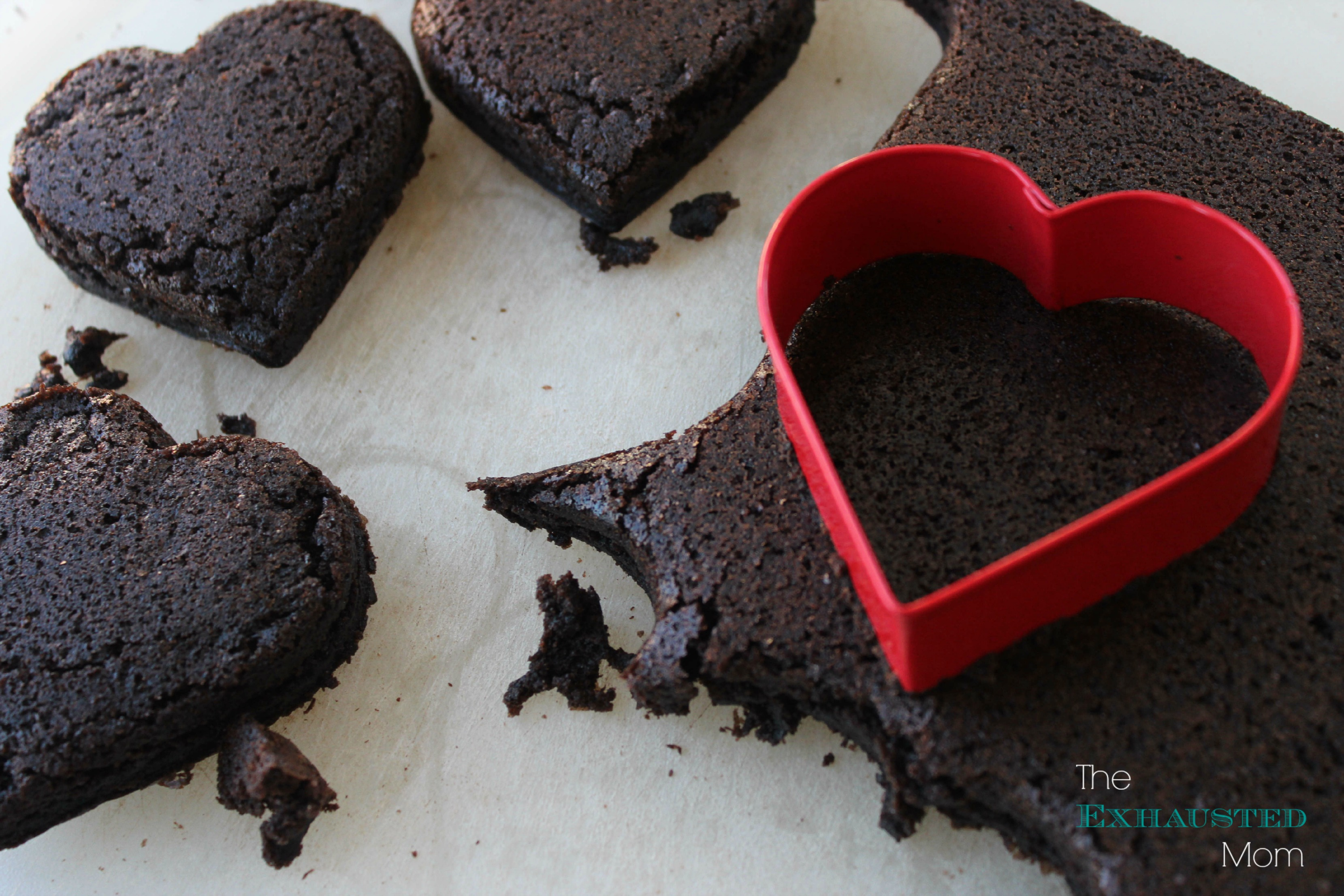 Brownie Hearts