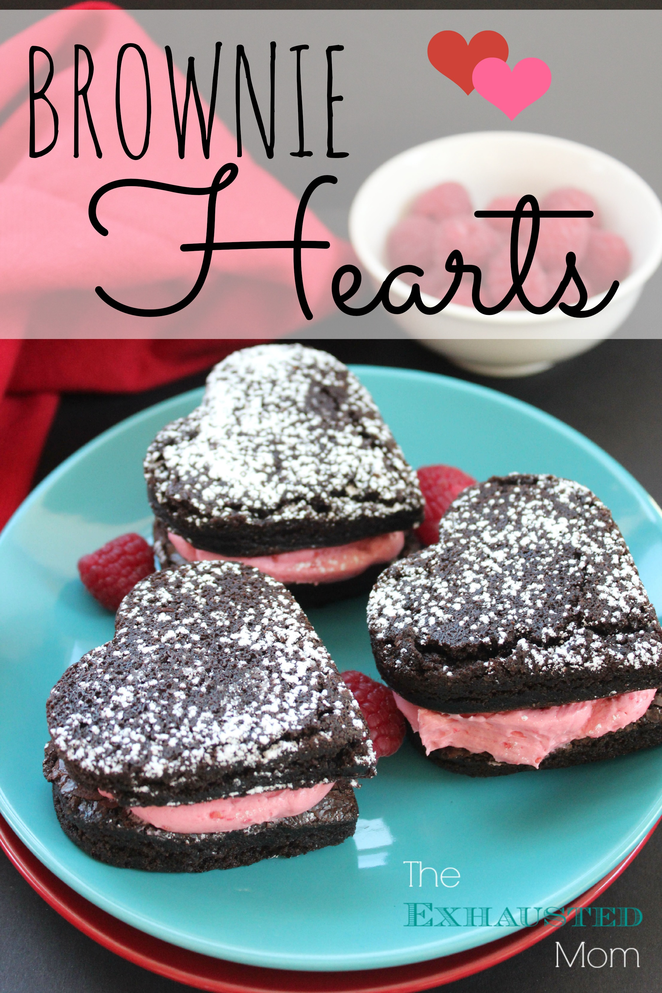 Make Valentine's Day special with Brownie Hearts.
