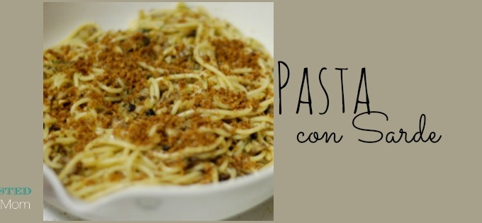 The Feast of St. Joseph ~ Pasta Con Sarde