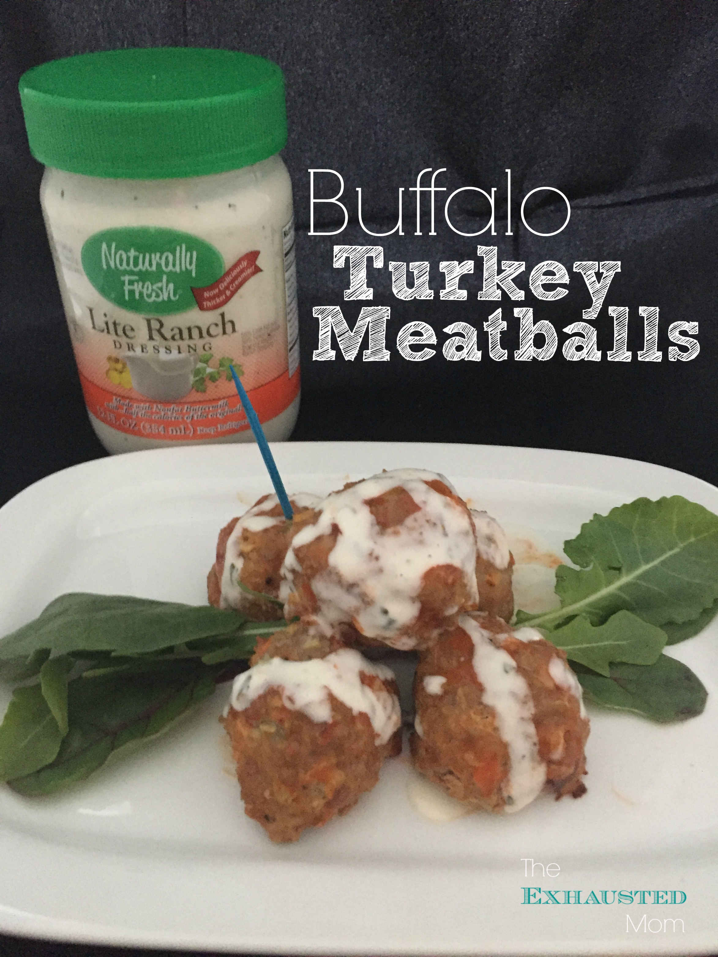 Buffalo Turkey Meatballs 1