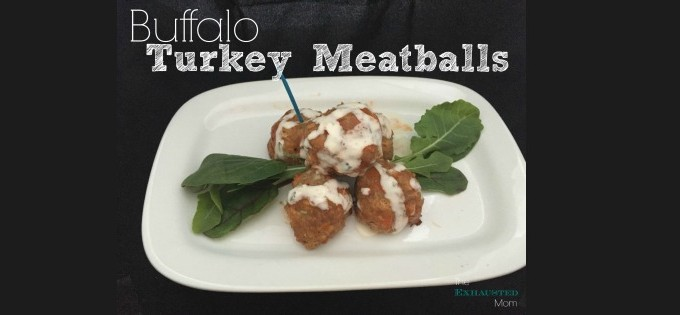 Buffalo Turkey Meatballs header
