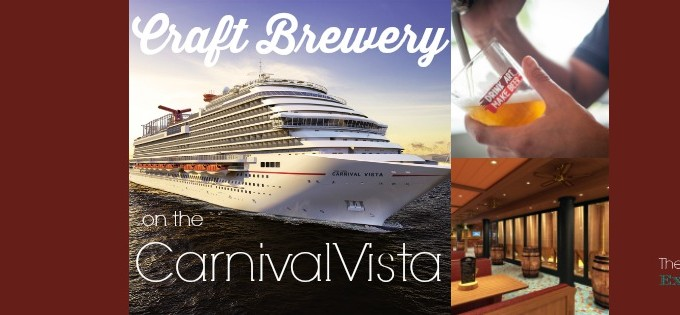 Craft Brewery on the Carnival Vista