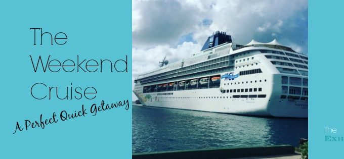 The Weekend Cruise: A Perfect Quick Getaway