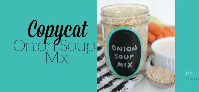 Copycat Onion Soup Mix