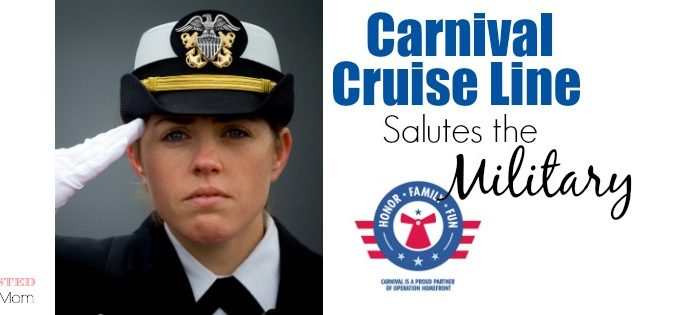 Carnival Cruise Line Salutes the Military