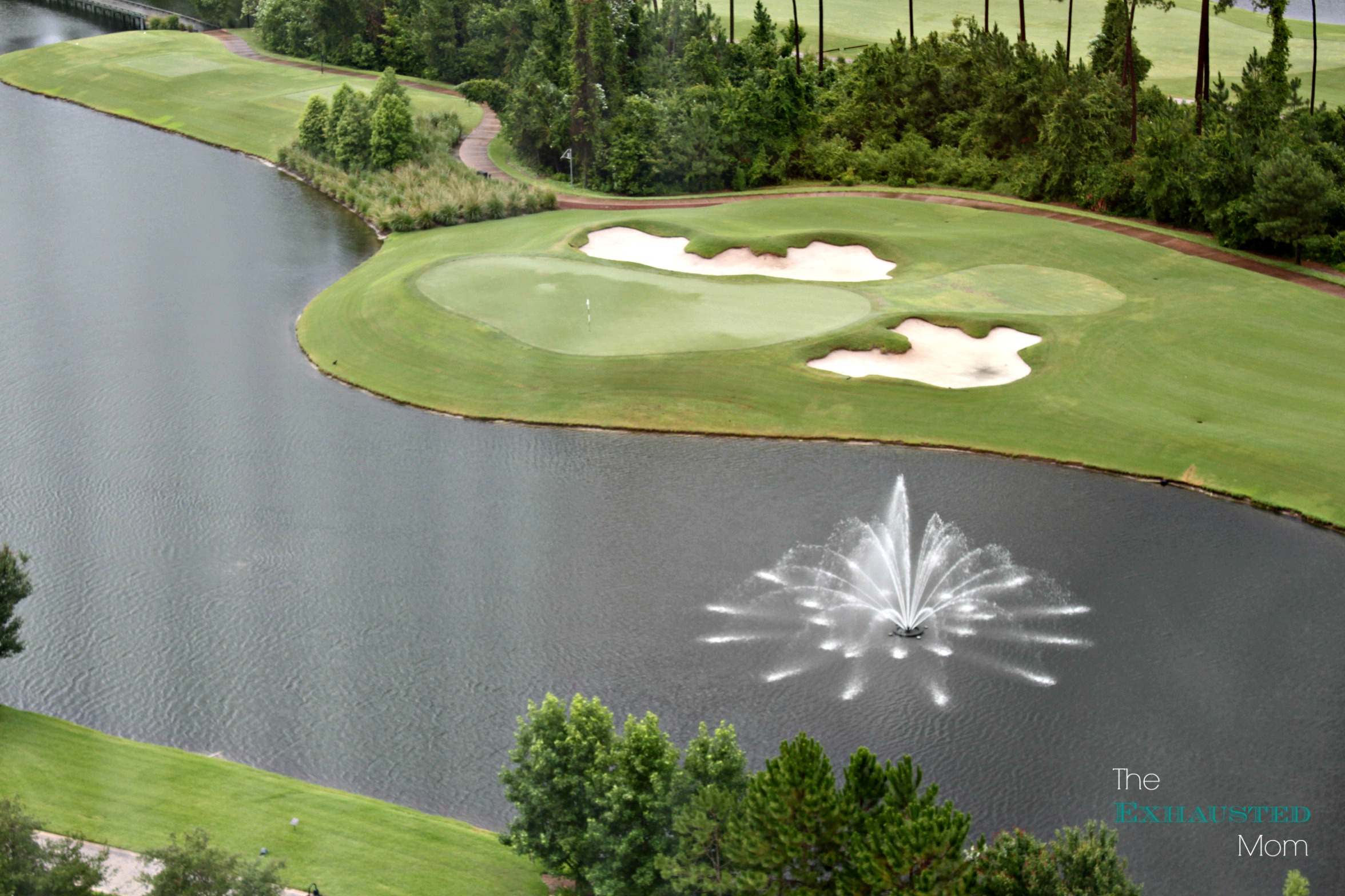 Play a round of golf at the championship 18-hole golf course.