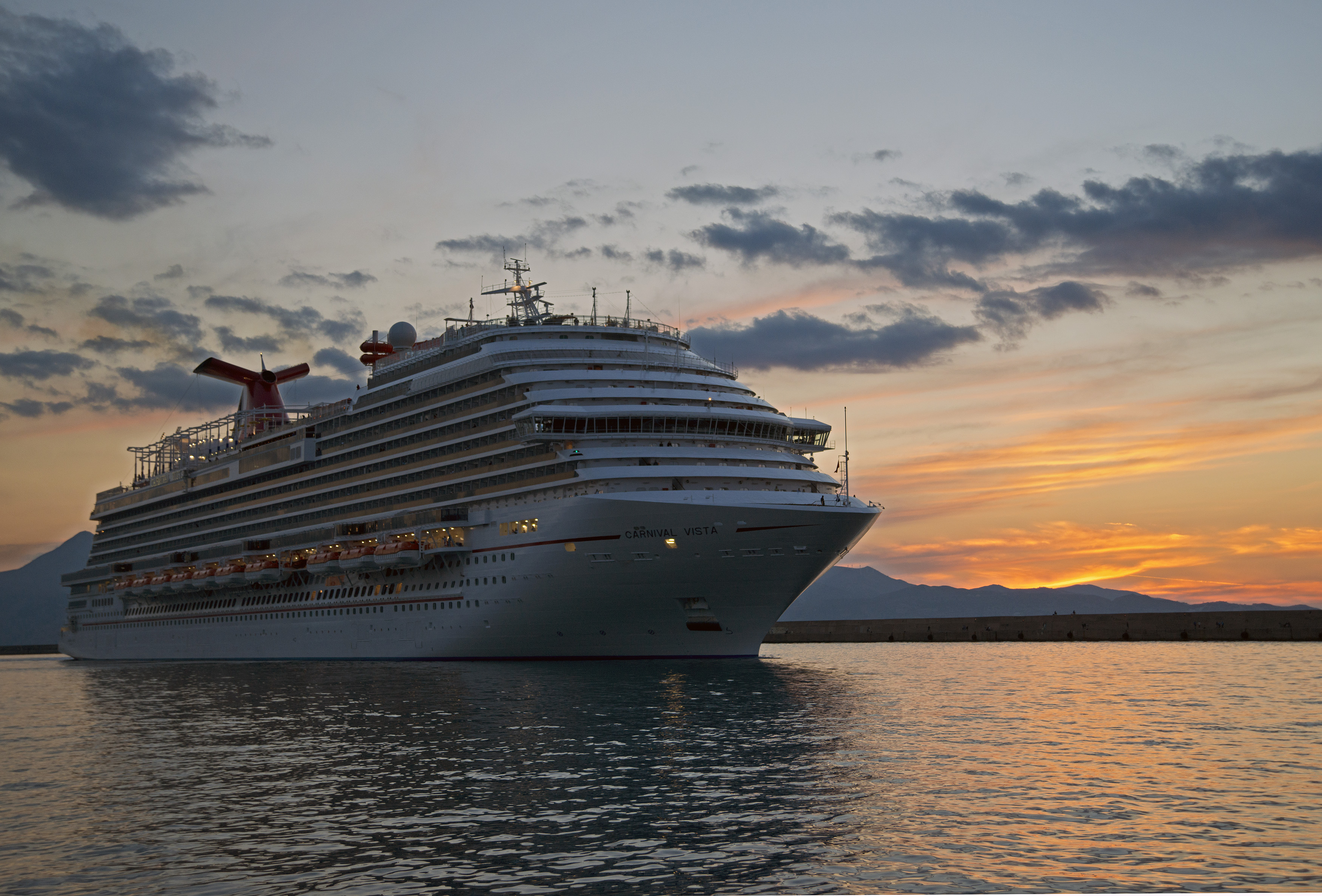 The Carnival Vista. The largest and most innovative cruise vessel in Carnival Cruise Line's fleet.