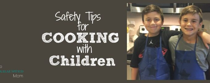 Safety Tips for Cooking with Children