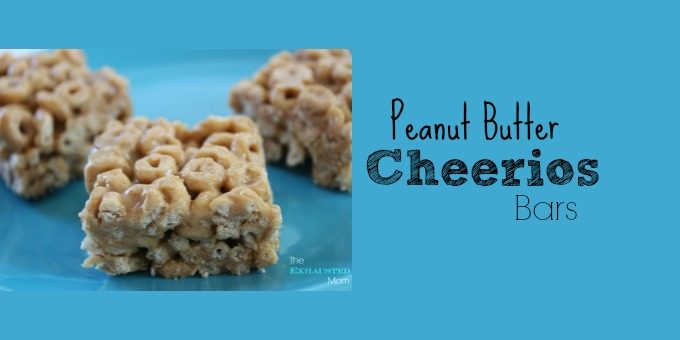 PB Cheerios Bars