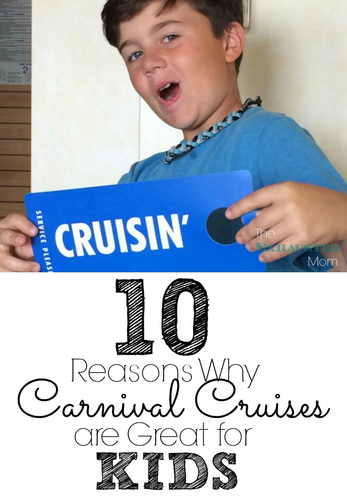 Kids on Carnival Cruise