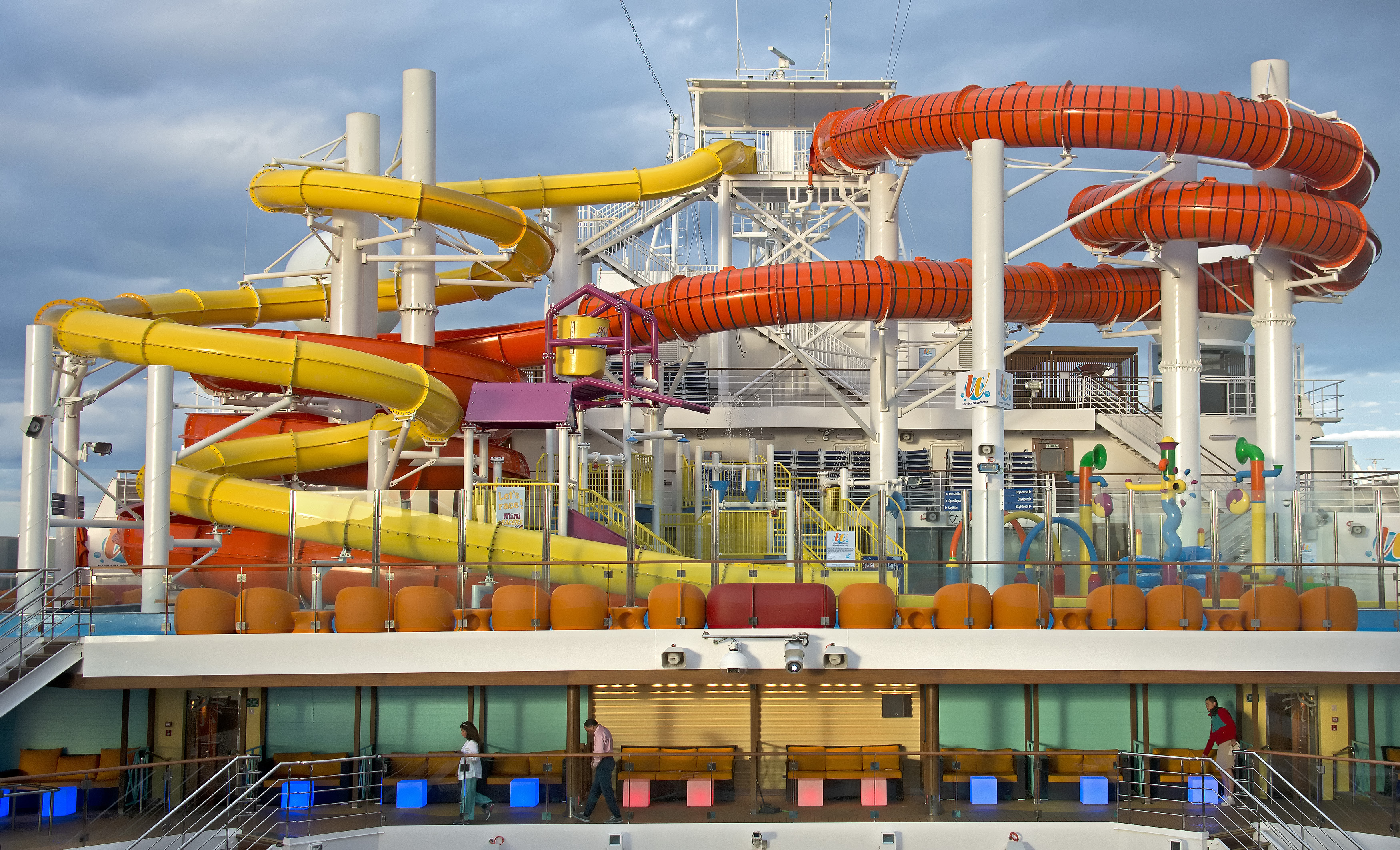 WaterWorks on the Carnival Vista