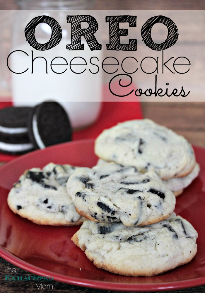 Oreo Cheesecake Cookies Recipe