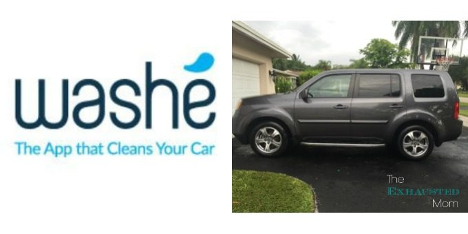 Washe' the app that cleans your car