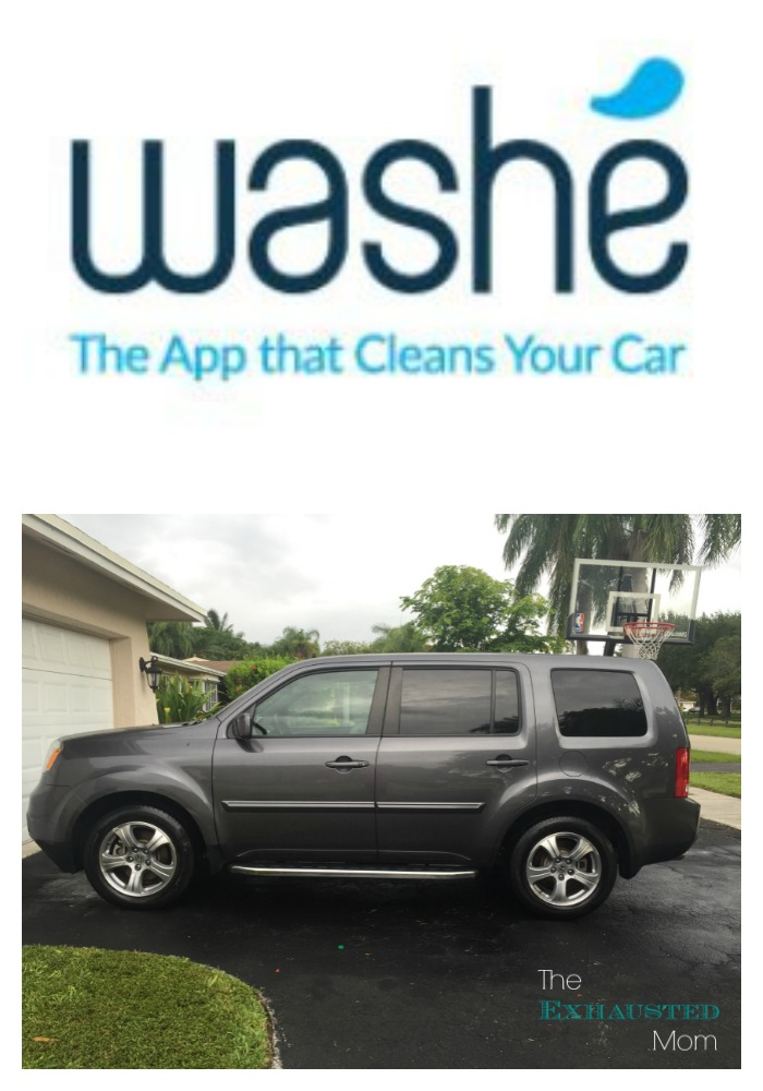 Washe the app that cleans your car