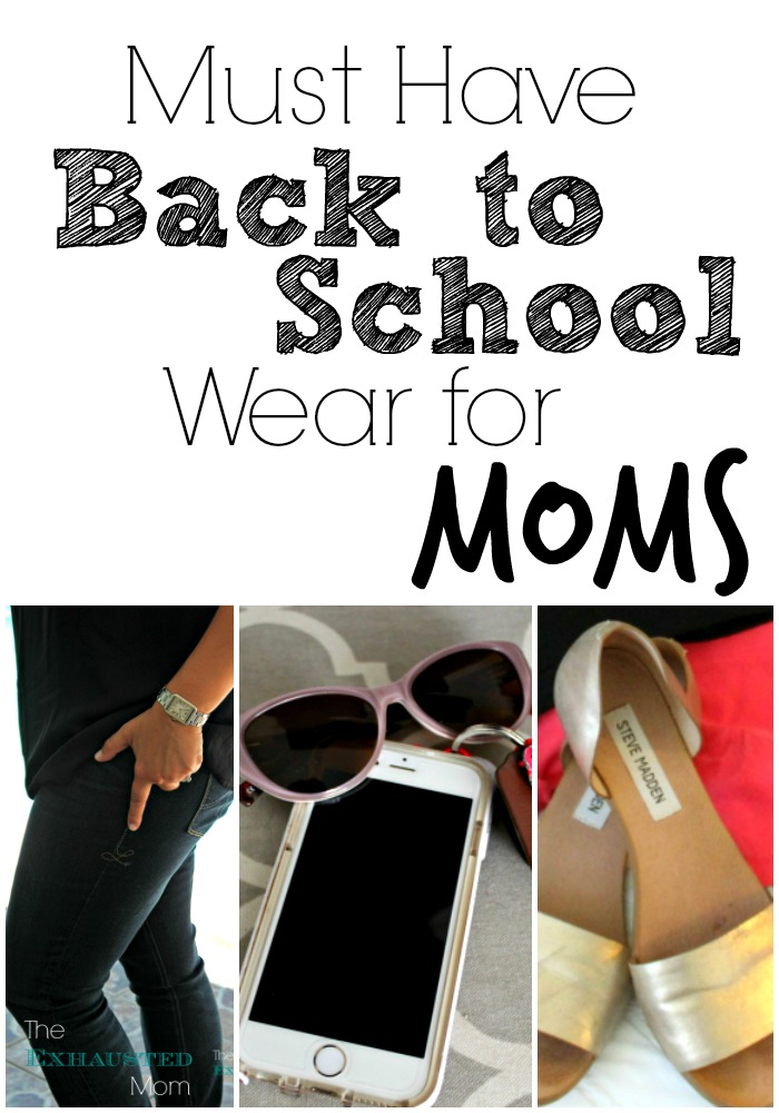 Must Have Back to School Wear for Moms