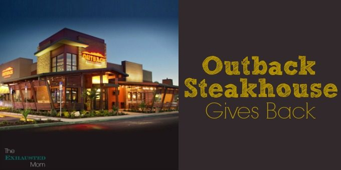 Outback Steakhouse Gives Back