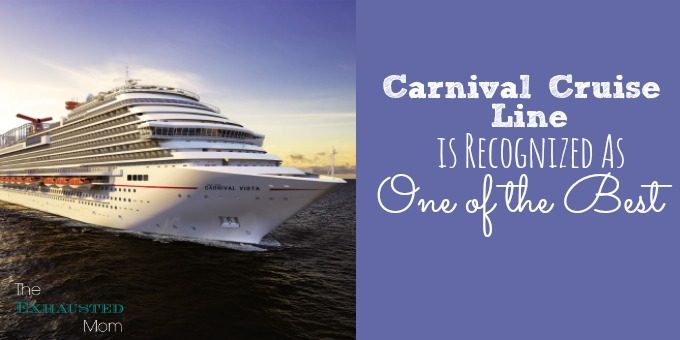 Carnival Cruise Line is Recognized As One of the Best
