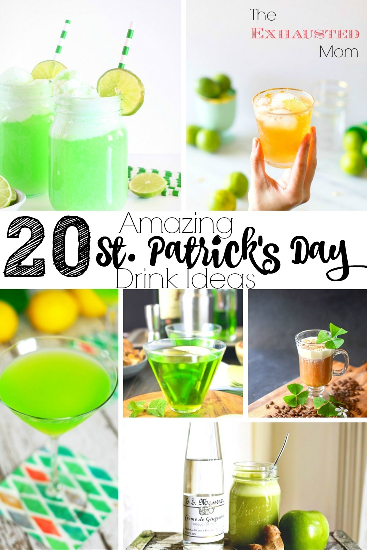 20 Amazing St. Patrick's Day Drink Ideas